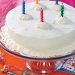 White Birthday-Cake