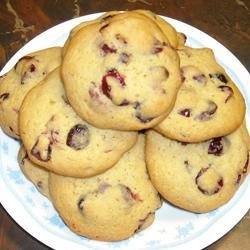 Thumbnail for Cranberry Orange Shortbread Cookies