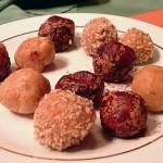 Instant peanut butter fudge truffles