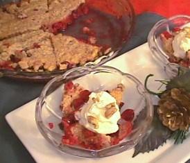 Thumbnail for Cranberry Crisp Pie
