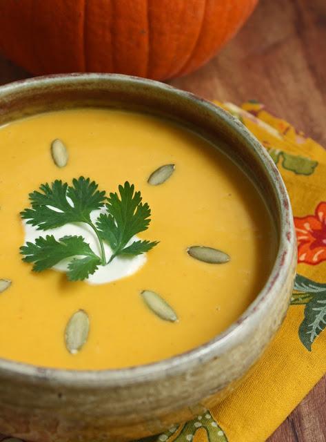 Thumbnail for Pumpkin Chipotle Soup