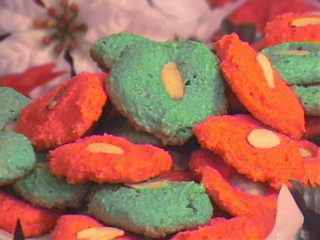 Thumbnail for Holiday Almond Cookies