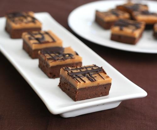 Thumbnail for Peanut Butter Fudge Brownies