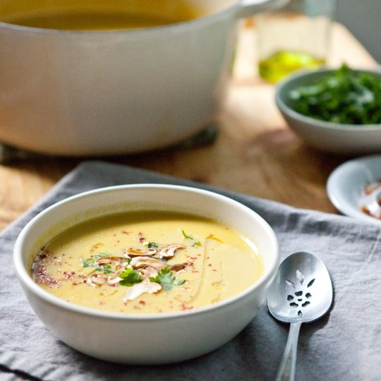 Creamy Curried Cauliflower Soup | The LC Foods Community
