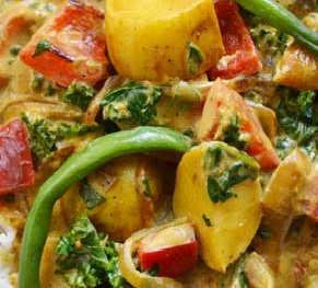 Thumbnail for Quick Veggie Curry