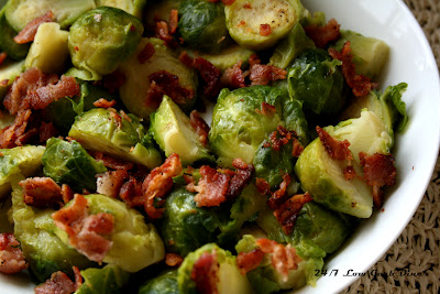 """Thumbnail for Bacon Brown """"Sugah"""" Brussels Sprouts"""