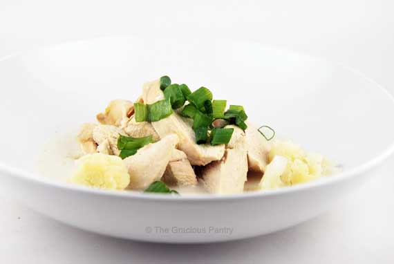 Thumbnail for Clean Eating Coconut Cauliflower Chicken With Green Onions