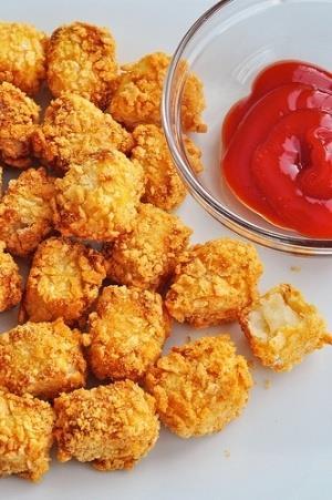 Thumbnail for Cheesy Cauliflower Tots