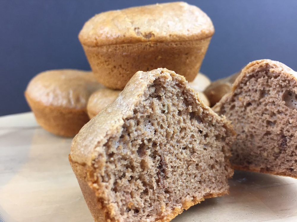 Thumbnail for Low Carb Chocolate Banana Muffins