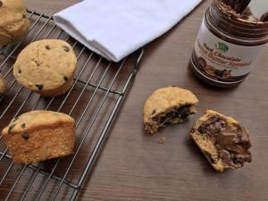 Chocolate Peanut Butter Muffins