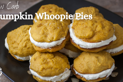Thumbnail for Low Carb Pumpkin Whoopie Pies
