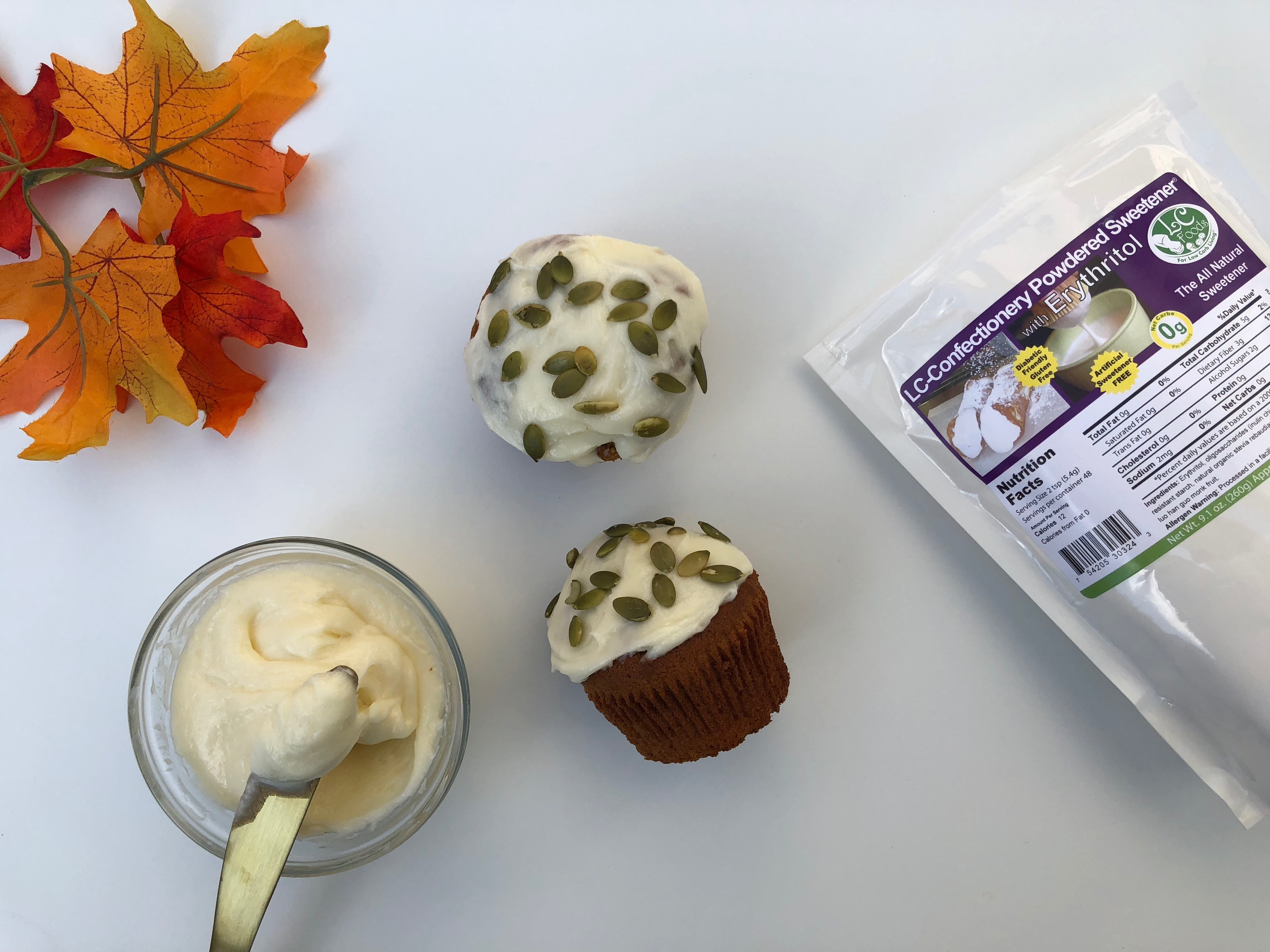 Thumbnail for Low Carb Cream Cheese Frosting