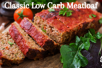Thumbnail for Classic Low Carb Meatloaf