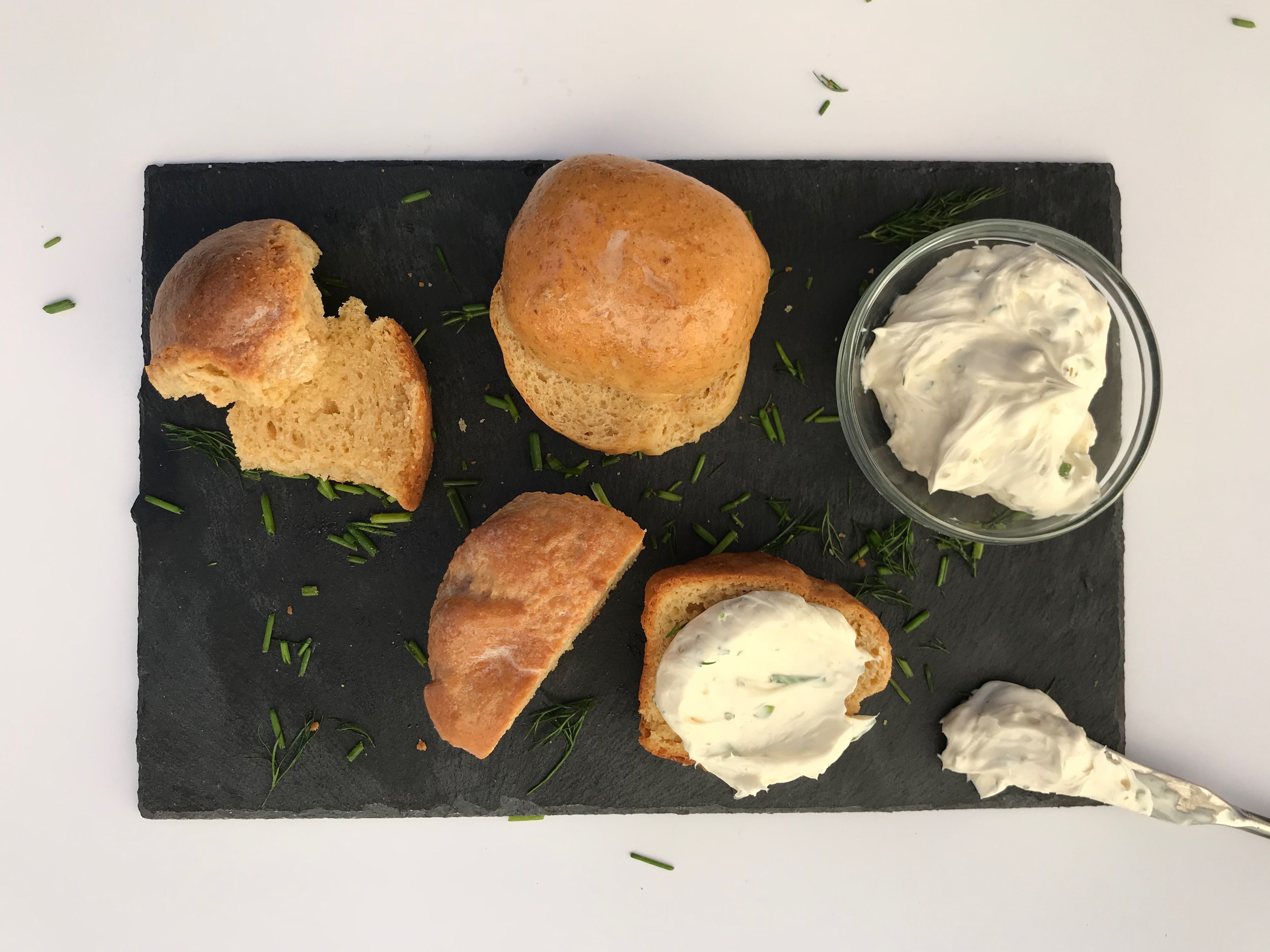 Thumbnail for Herbed Cream Cheese Spread