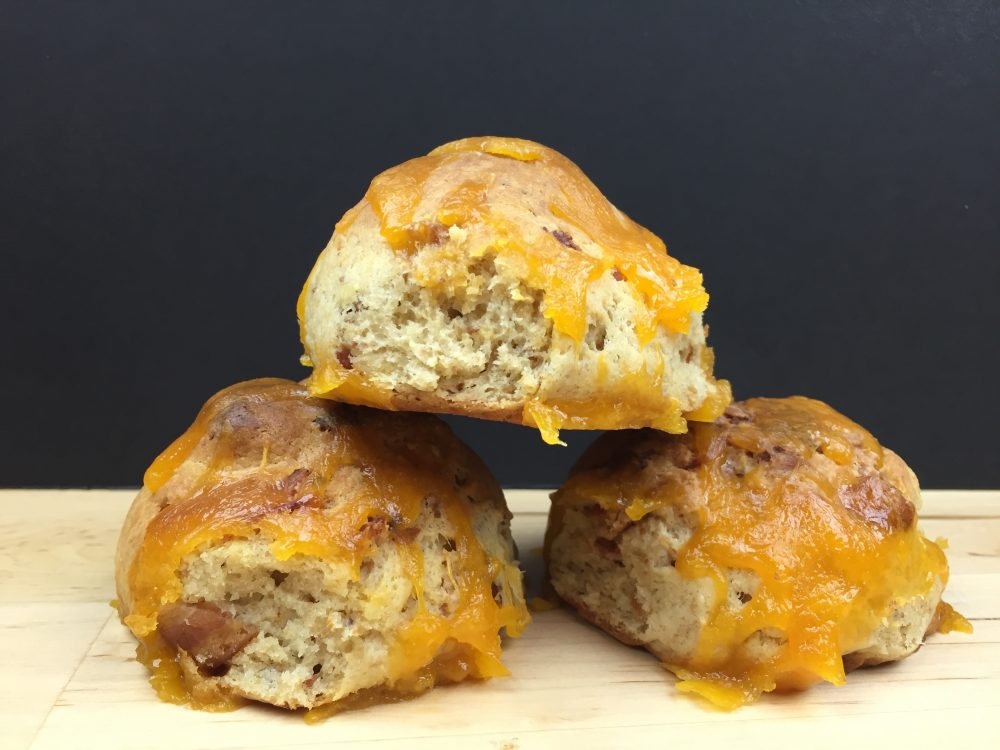 Thumbnail for Low Carb Cheesy Bacon Angel Rolls