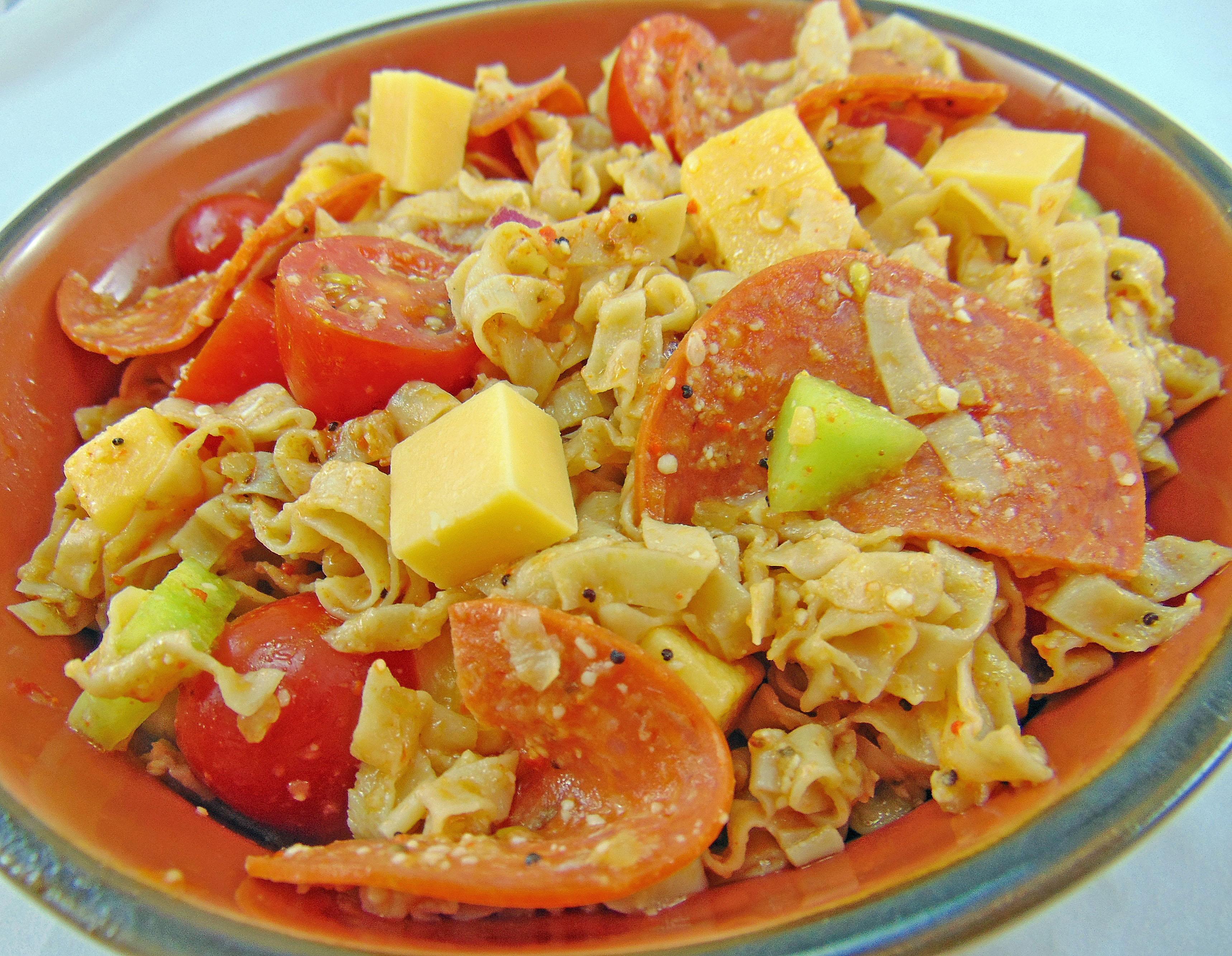 Thumbnail for Low Carb Summer Picnic Pasta Salad