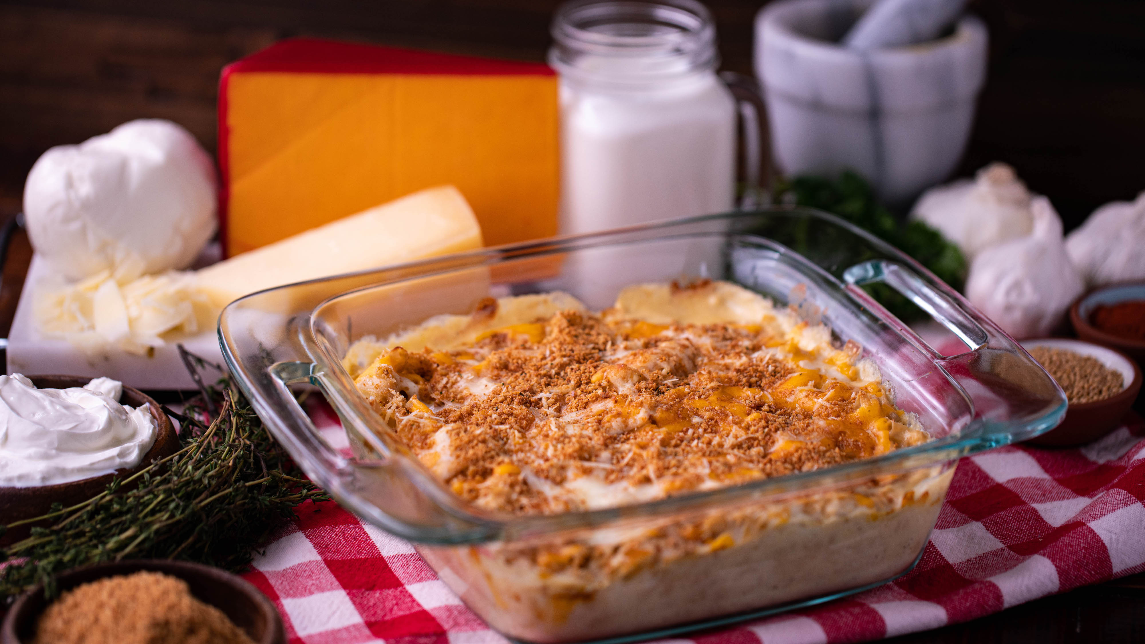 Thumbnail for Low Carb Mac n Cheese