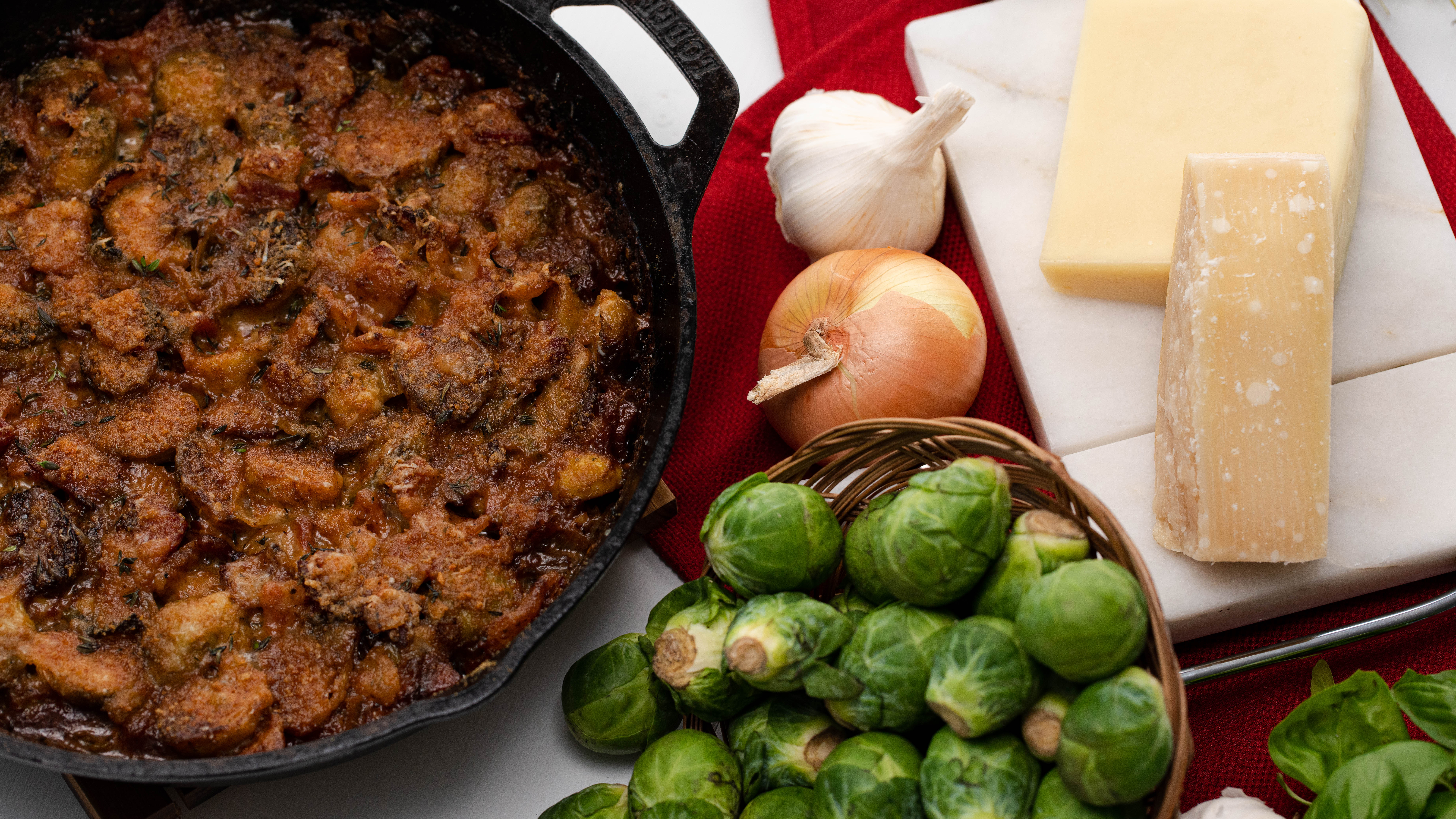Thumbnail for LC Brussels Sprouts Gratin