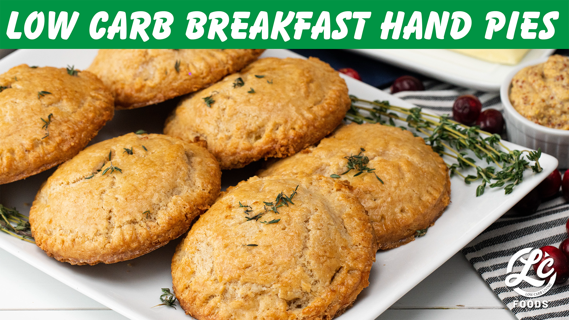 Thumbnail for Low Carb Breakfast Hand Pies