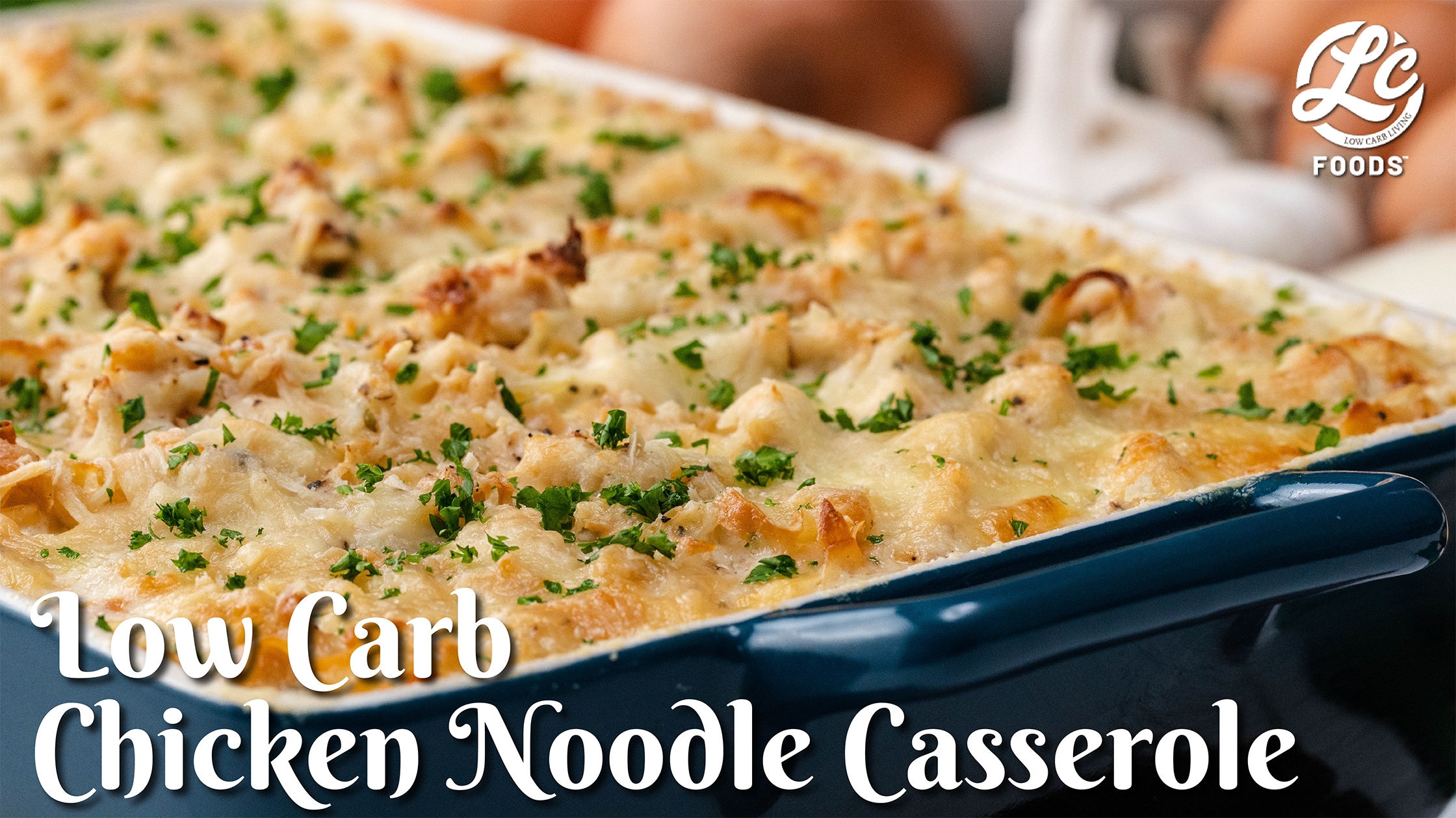 Thumbnail for Low Carb Chicken Noodle Casserole
