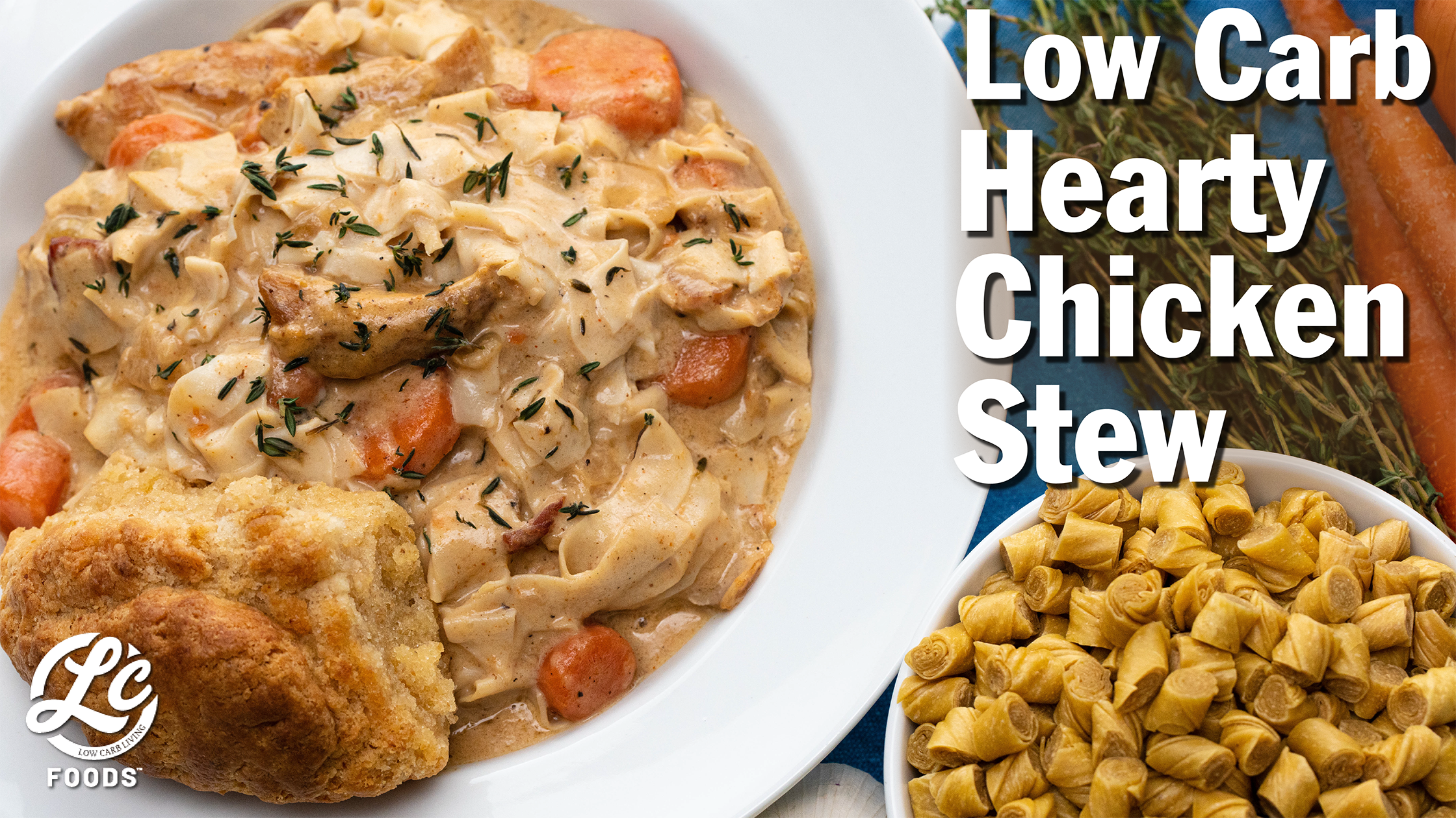 Thumbnail for Low Carb Hearty Chicken Stew