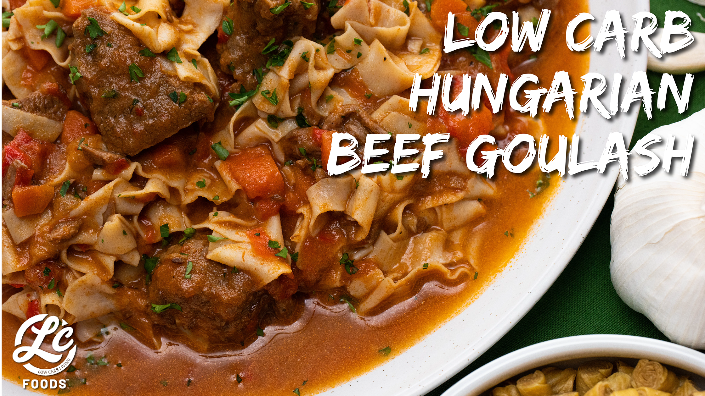 Thumbnail for Low Carb Hungarian Beef Goulash