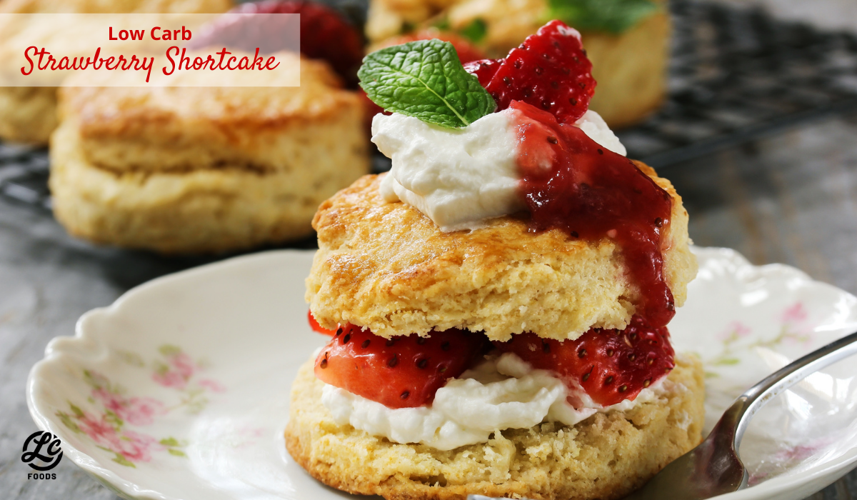 Thumbnail for Low Carb Strawberry Shortcake