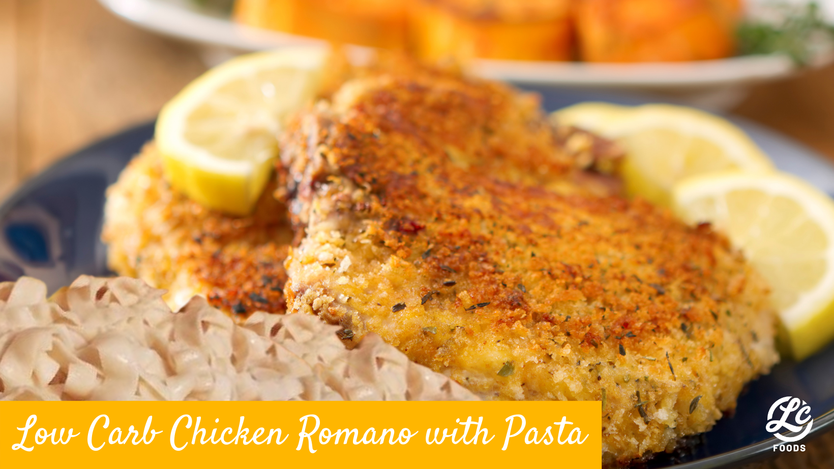 Thumbnail for Low Carb Chicken Romano with Pasta