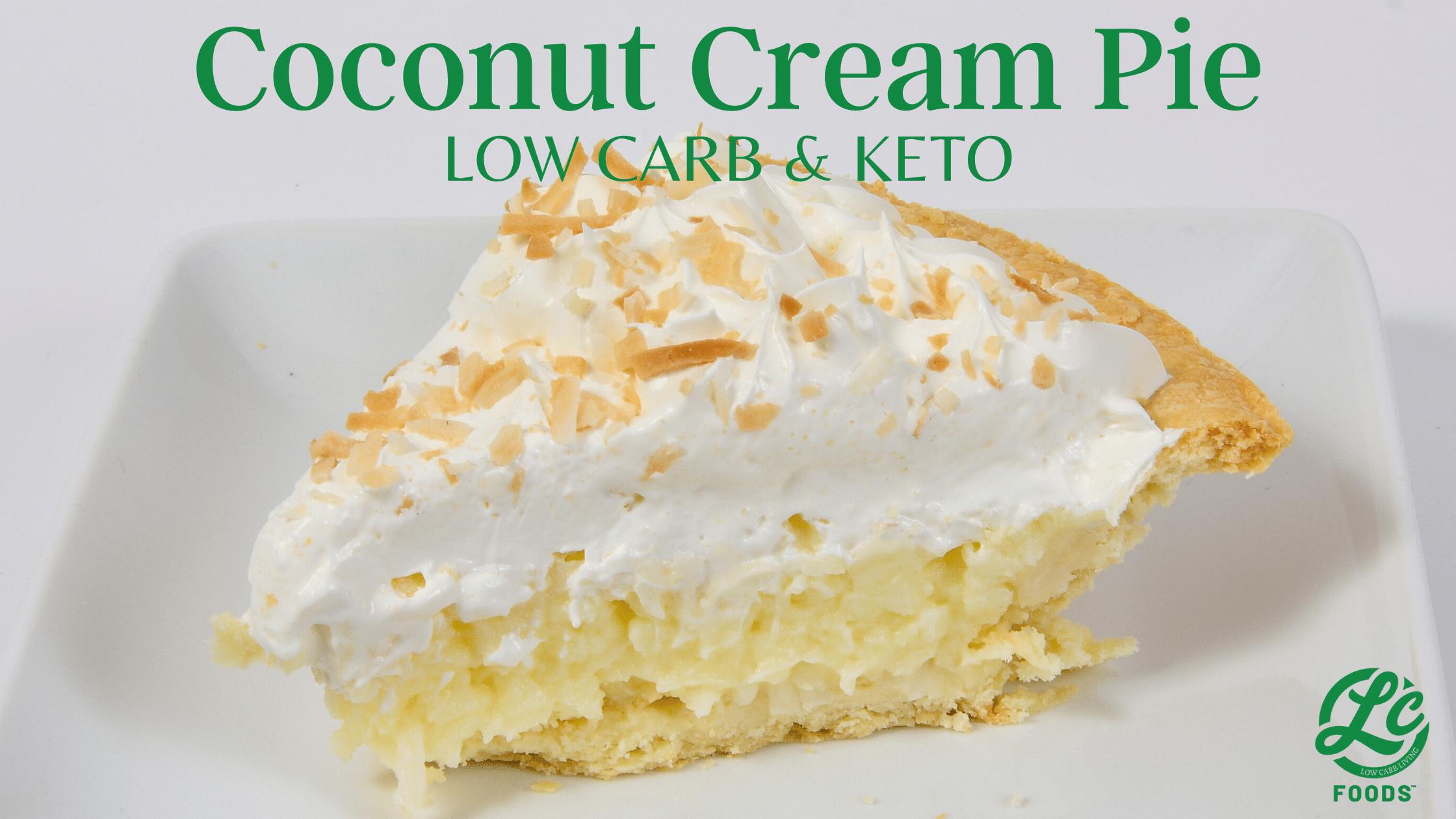 Thumbnail for Keto Coconut Cream Pie