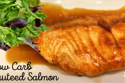 Thumbnail for Low Carb Sauteed Salmon