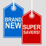 New Products and Super Savers