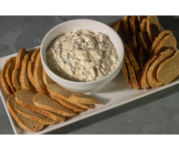 Low Carb Sea Salt and Onion Bagel Chips - Fresh Baked