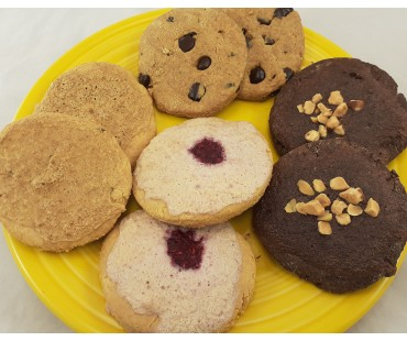 Low Carb Cookies Variety Sampler - Fresh Baked