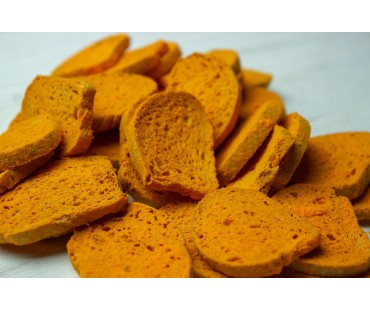 Low Carb Cheezy Cheddar Bagel Chips - Fresh Baked