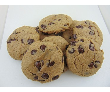 Low Carb Chocolate Chip Cookies - Fresh Baked