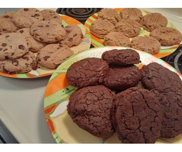 Low Carb Chocolate Cookies - Fresh Baked