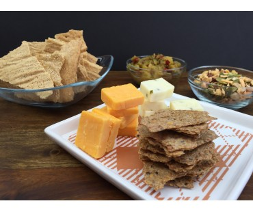 Low Carb Cracker Thins - Fresh Baked