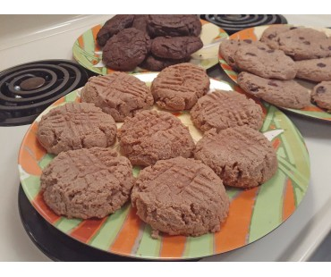 Low Carb Peanut Butter Cookies - Fresh Baked