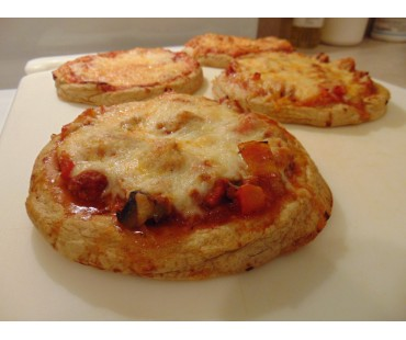 "Low Carb Personal Size 6"" Pizza Shells - Fresh Baked"