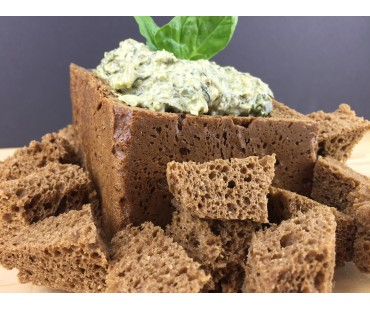 Low Carb Pumpernickel Bread - Fresh Baked