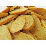 Low Carb Sea Salt and Garlic Bagel Chips - Fresh Baked