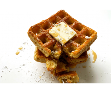 Low Carb Waffle Cakes - Fresh Baked