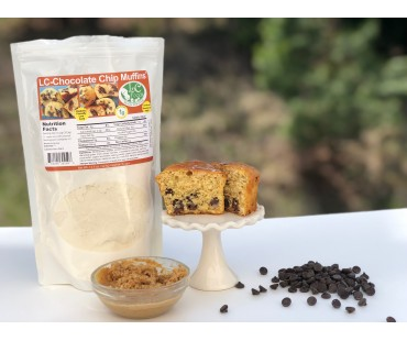 Low Carb Chocolate Chip Muffin Mix
