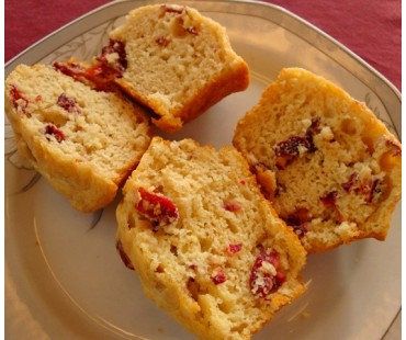 Low Carb Cranberry Muffin Mix