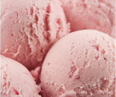 Low Carb Strawberry Ice Cream Mix