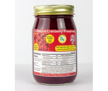 No Sugar Added Cranberry Preserves