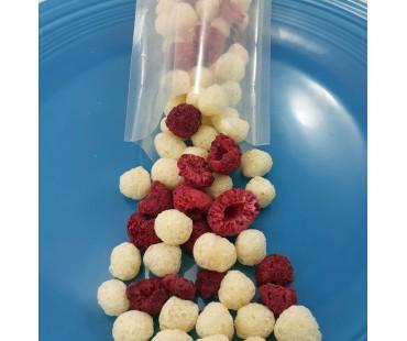 Raspberries & Puffs Snack Pack