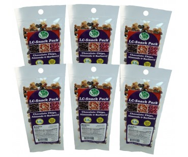 Chocolate Chip, Almond & Barberry Snack Pack