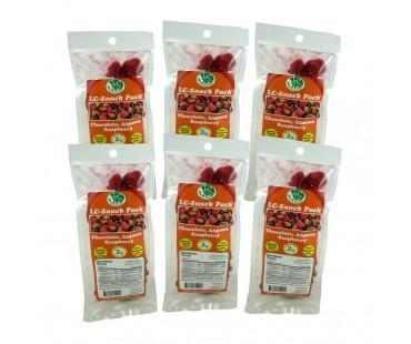 Chocolate Almond Raspberry Snack Pack