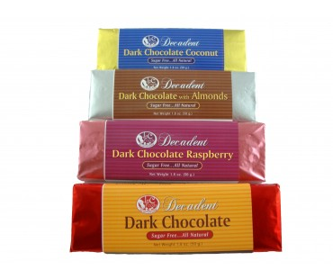 Decadent Dark Chocolate Bar